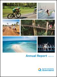 TEQ Annual Report cover page