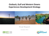 Outback, Gulf and Western Downs Experiences Development Strategy